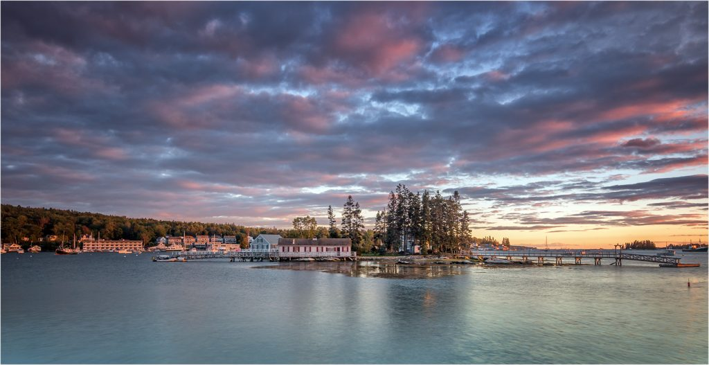 Boothbay Harbour Sunset