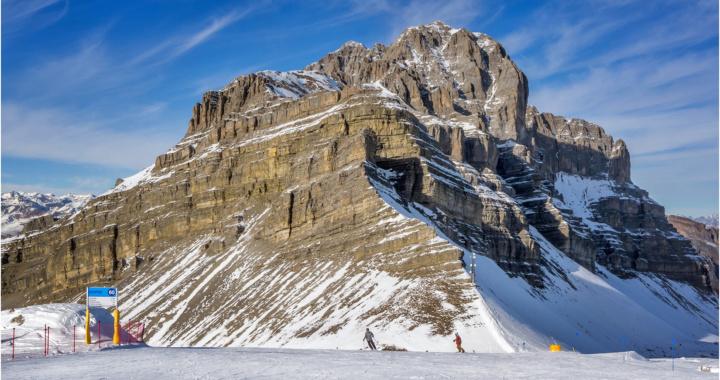 Pietra Grande (2937m) From the Groste Ski Run