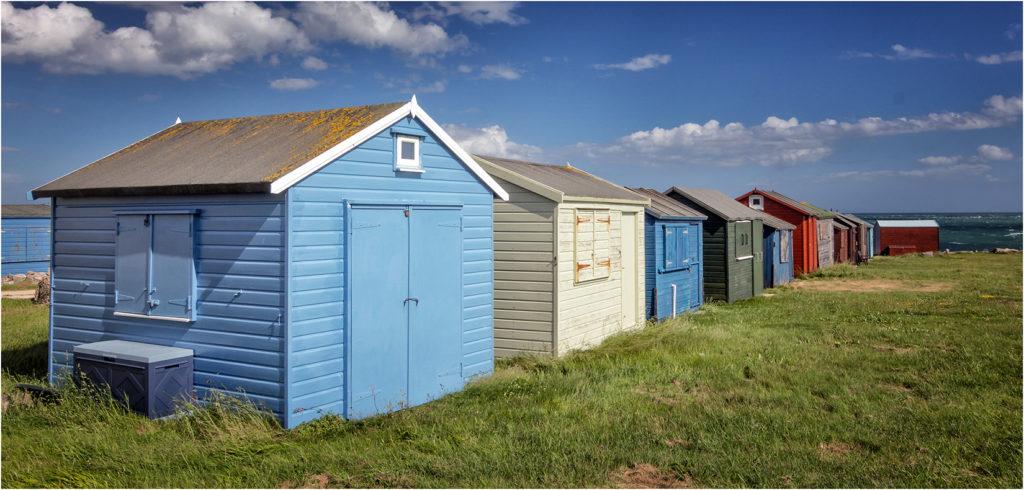 Beach Huts at Potrland Bill