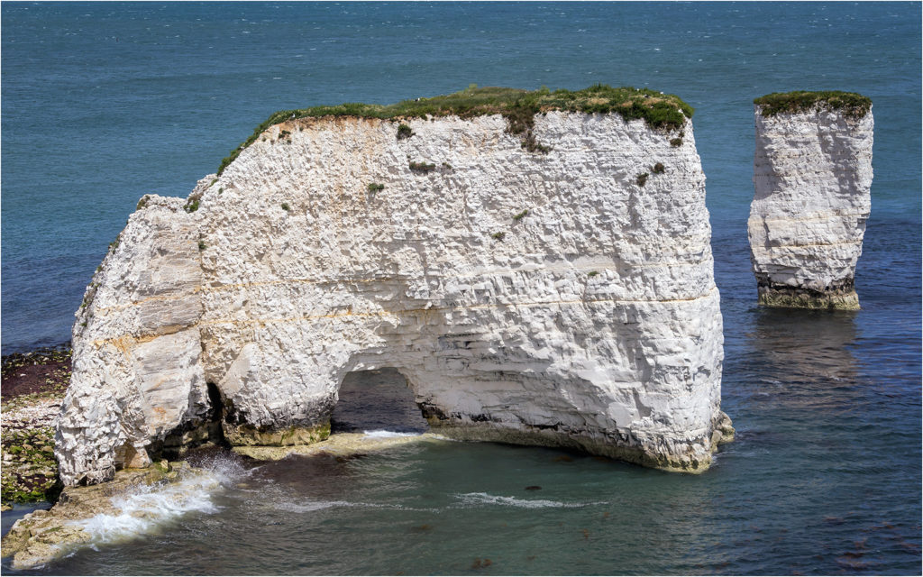 Sea Arch at Old Harry Rocks