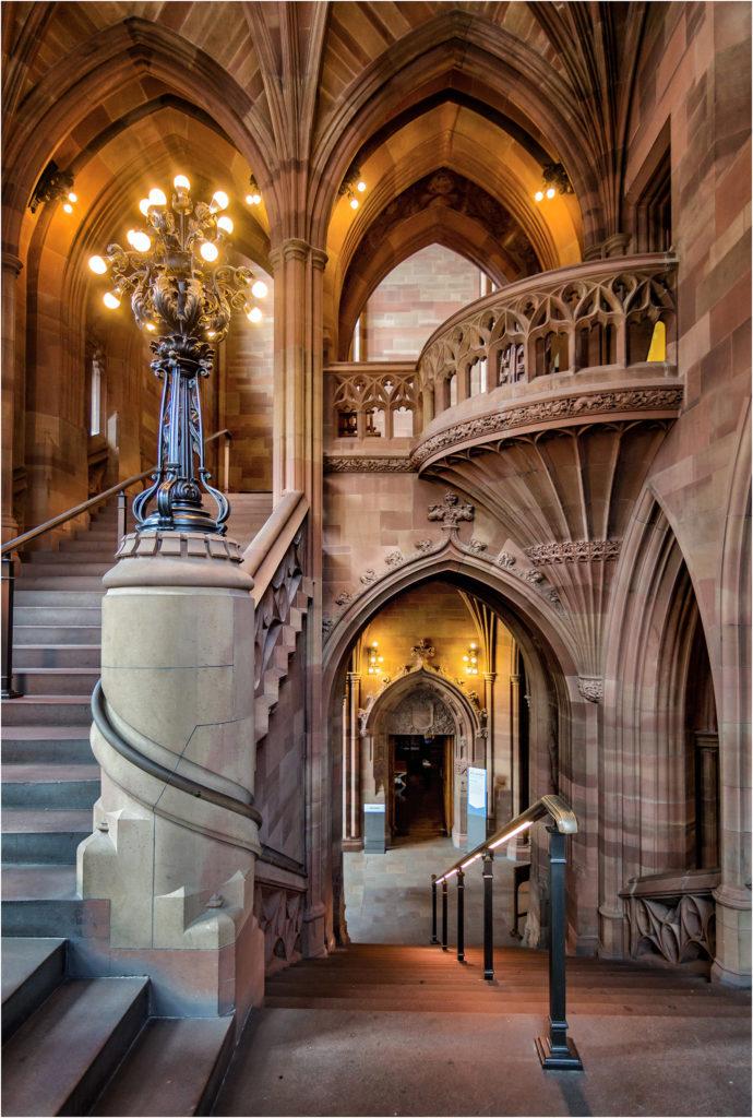 The Main Stairway