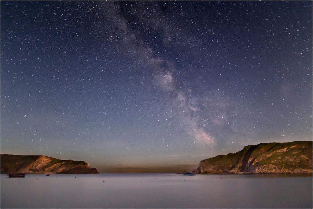 Milky Way Over Lulworth