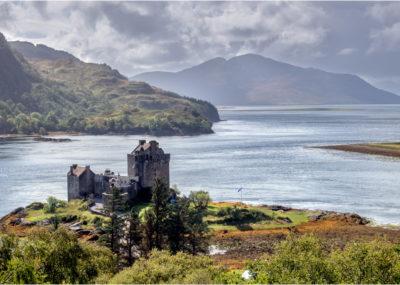 View Over Eilean Donan Castle