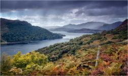 Rainfall Over Loch Duich