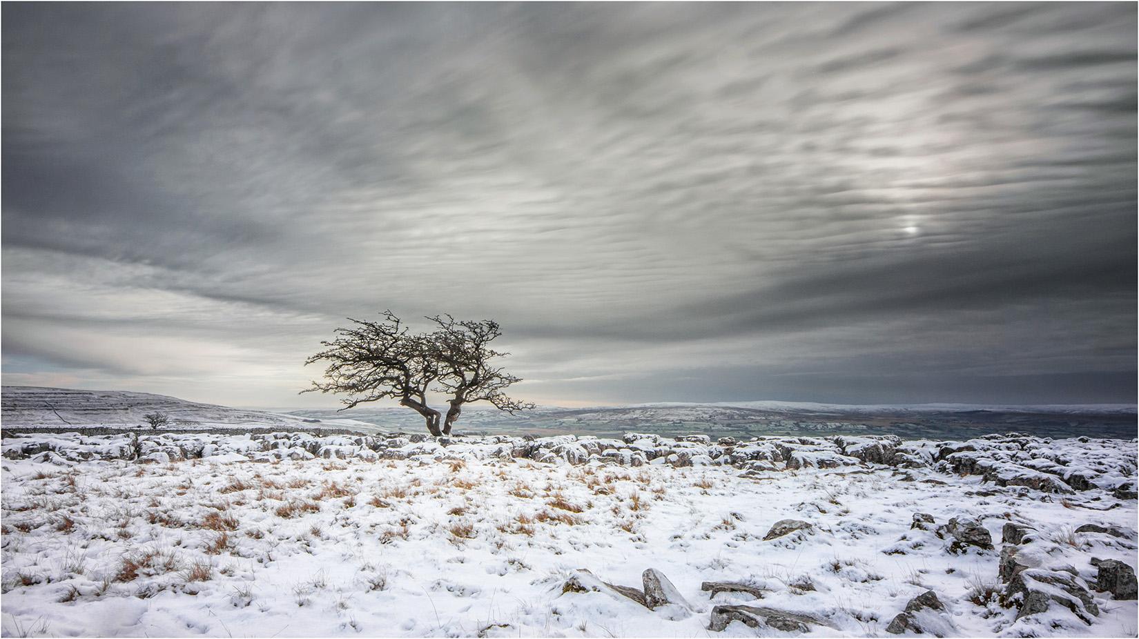 Twistleton Scar In Winter