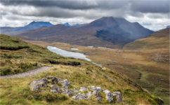 Ben Mor Coigach from Knockan Crag
