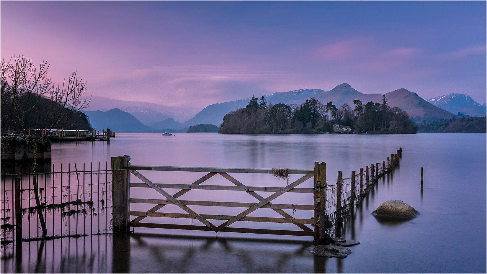 Dawn on Derwentwater