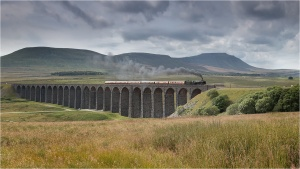 Steam Train on Ribblehead Viaduct