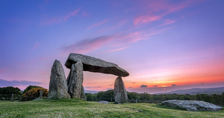 Pentre Ifan At Sunset
