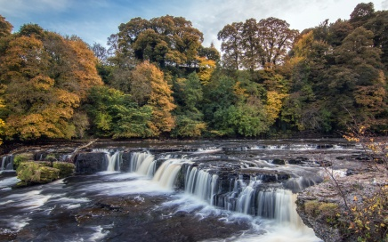 Aysgarth Upper Falls