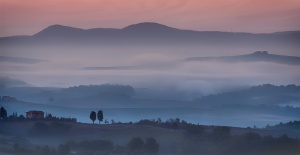 Mists Over The Chianti Region