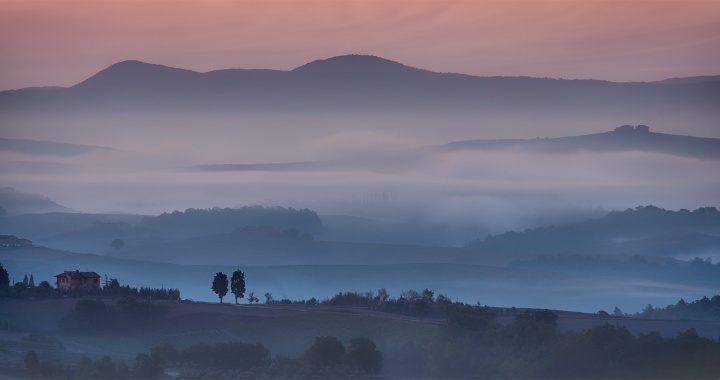 Mists Over The Chianti Region